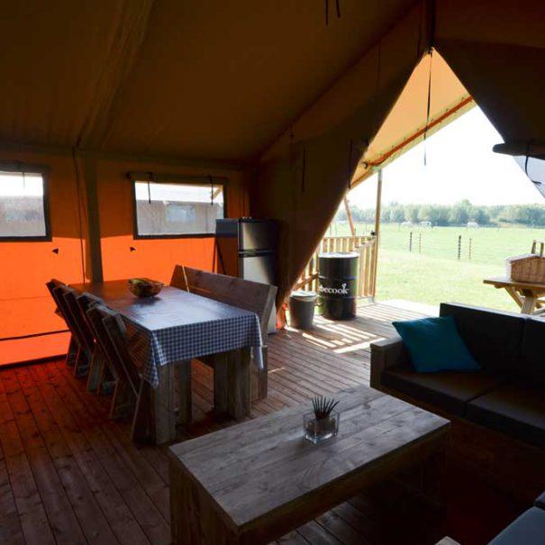Luxe camping Westhoek