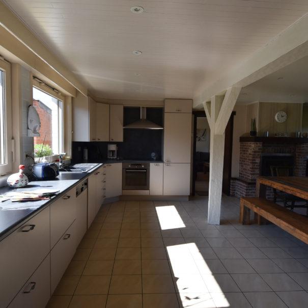 ruime keuken in vakantiewoning